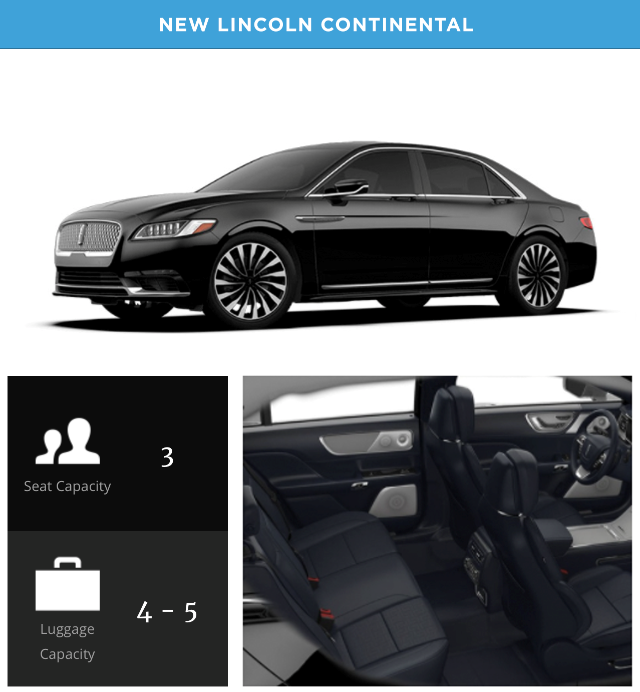 New Lincoln Continental copy